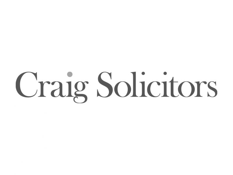 Craig Solicitors Logo Design
