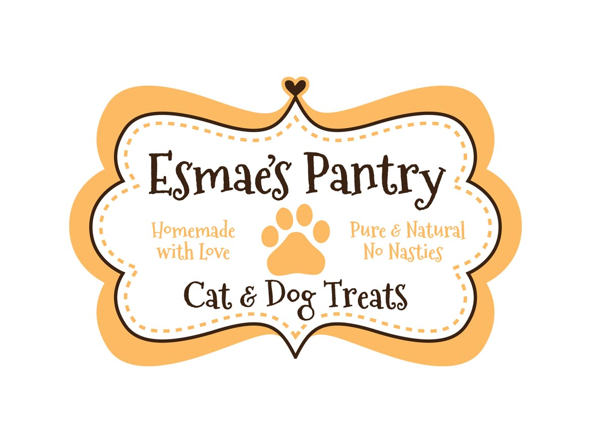 Esmaes Pantry Logo Design