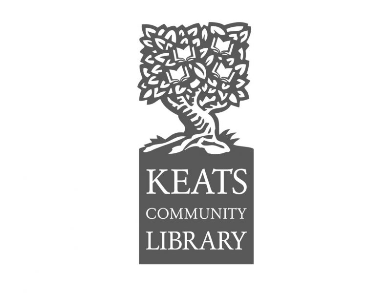 Keats Community Library Logo Design
