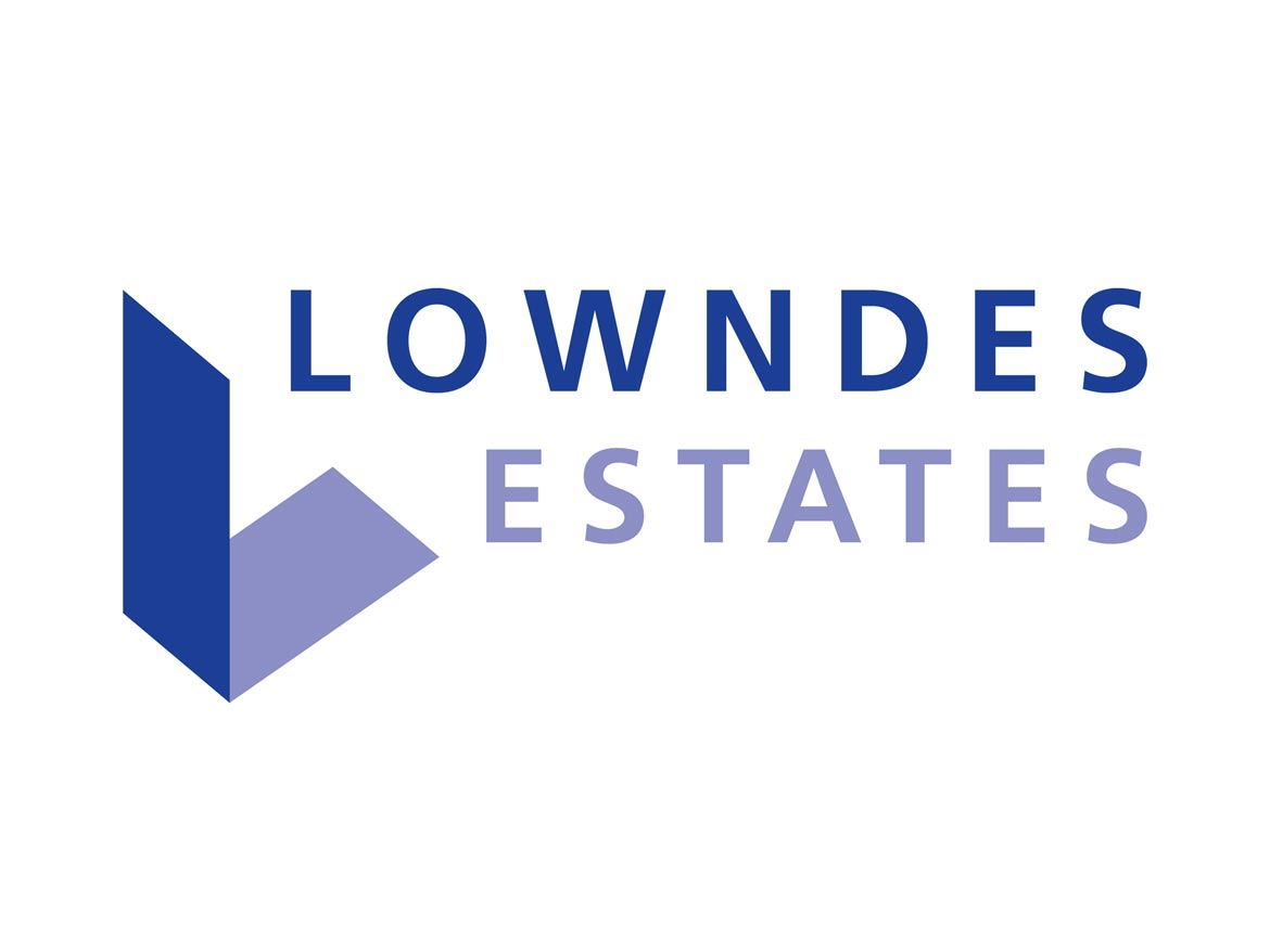Lowndes Estates Logo Design