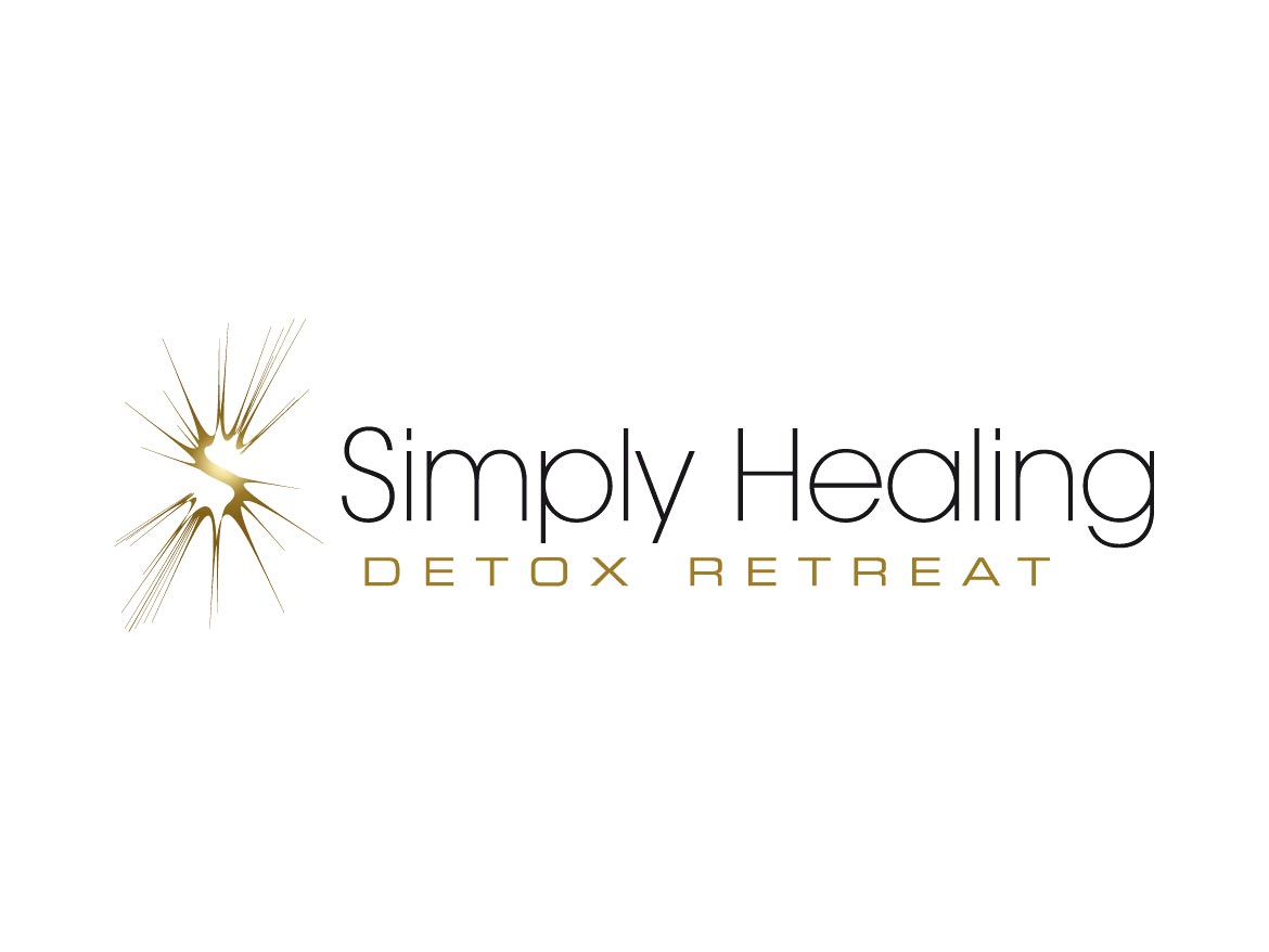 Simply Healing Detox Retreat Logo Design