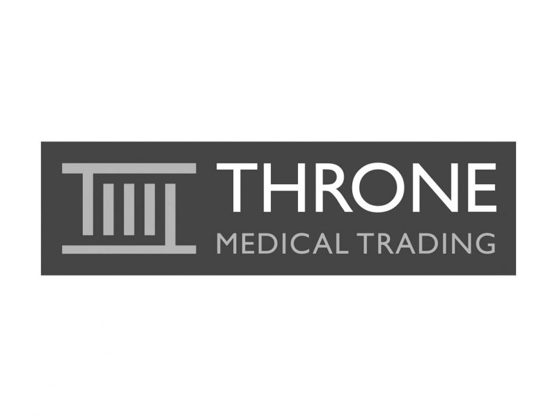 Throne Medical Trading Logo Design