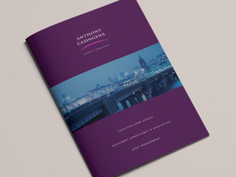 Anthony Casingena Brochure Cover