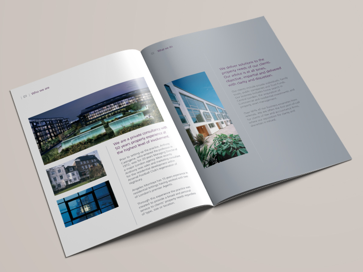 Anthony Casingena Brochure Design