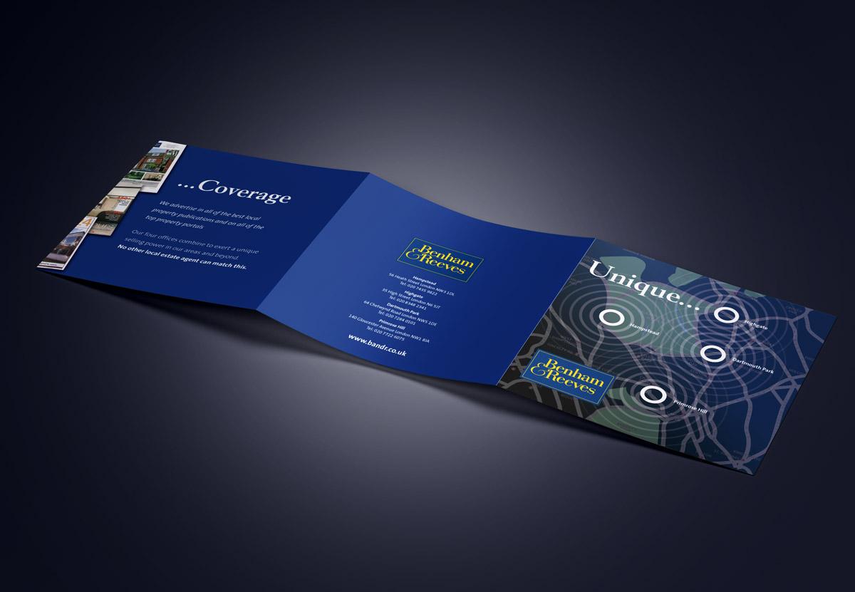 Benham & Reeves Leaflet Design