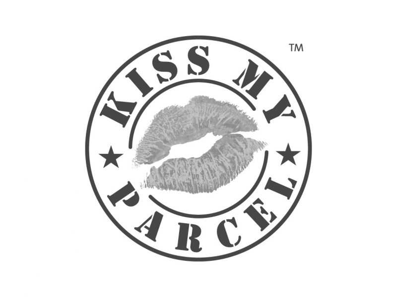 Kiss My Parcel Logo Design