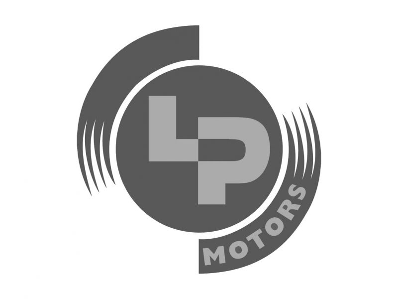 LP Motors Logo Design