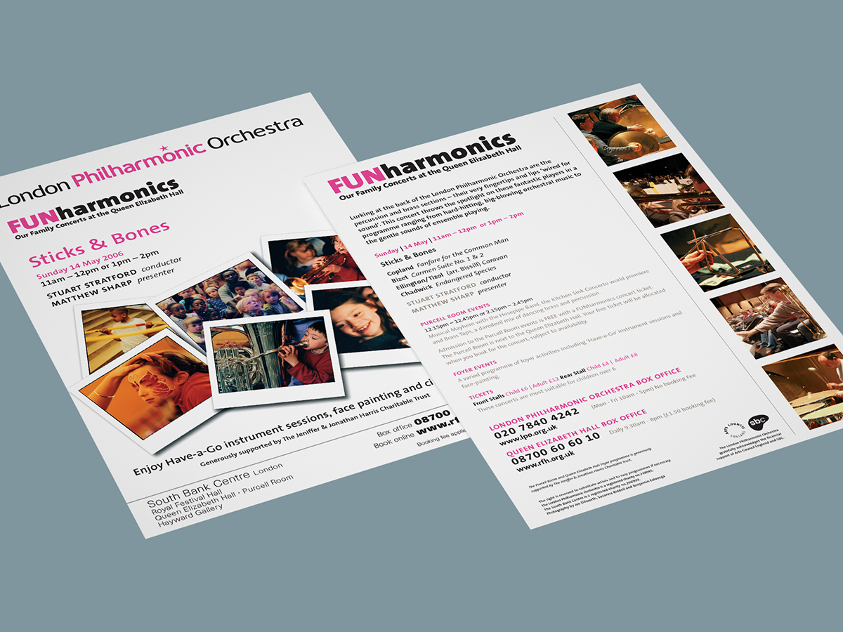 LPO Funharmonics Flyer