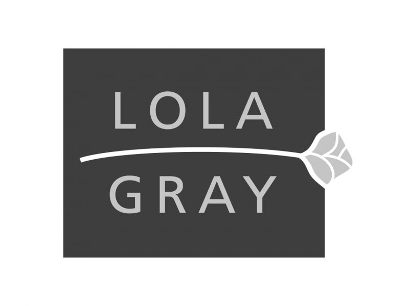 Lola Gray Logo Design