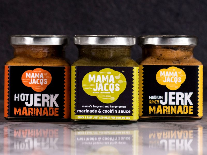 Mama Jacq's Jar Label Designs