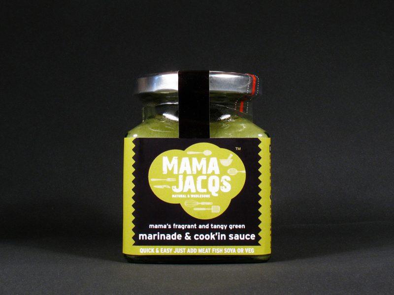 Mama Jacqs Marinade Sauce Label Design