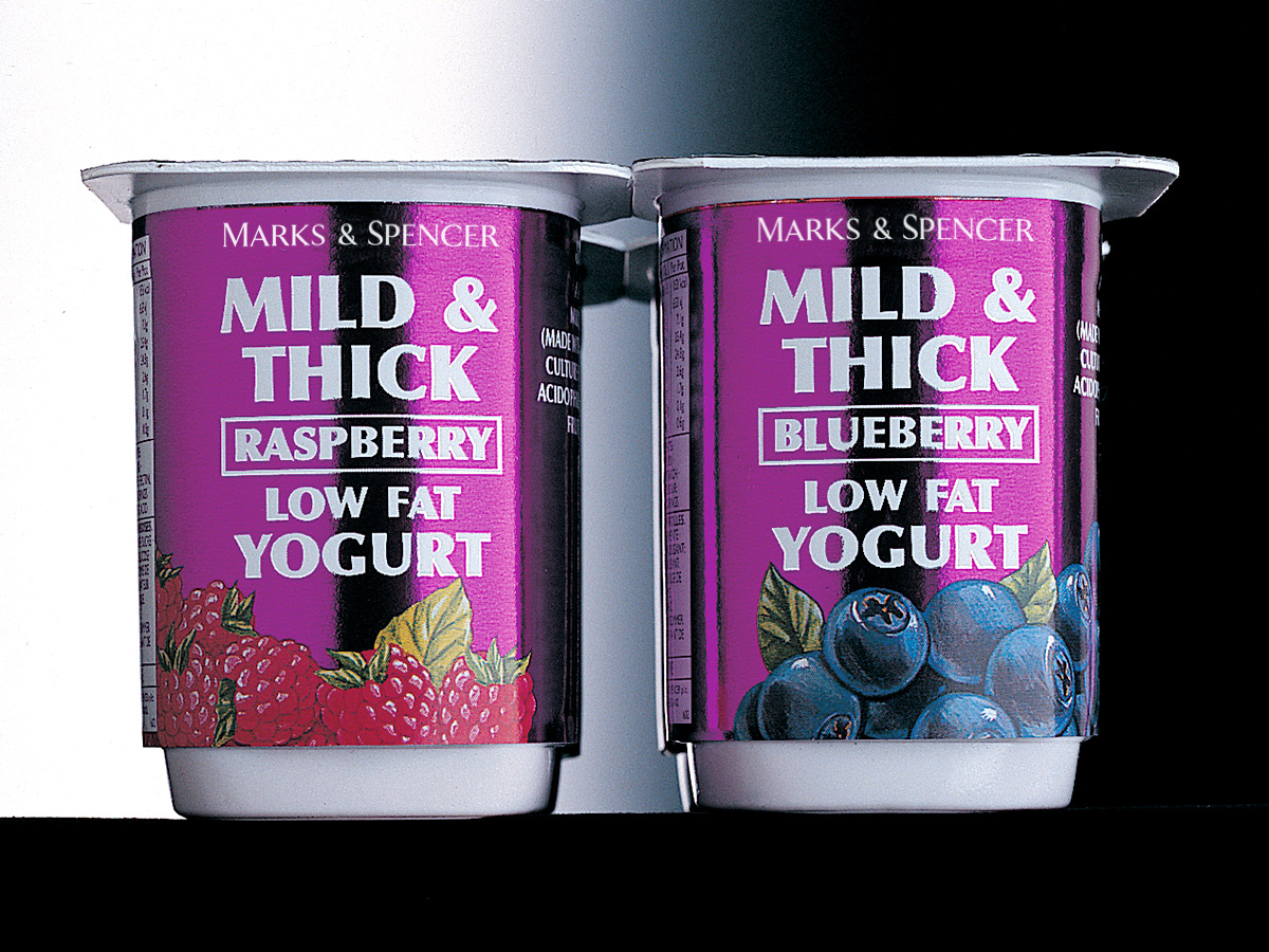 Marks & Spencer Yoghurt Packaging Design