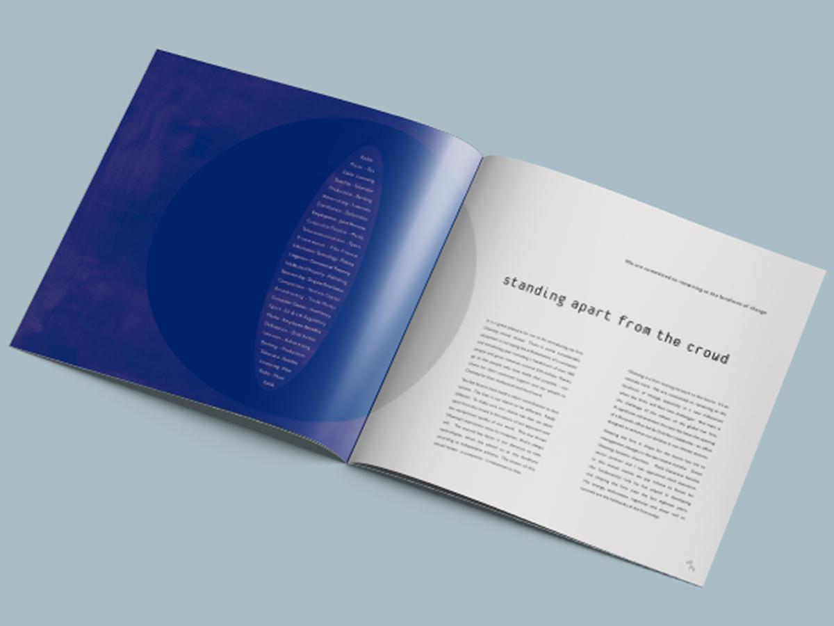 Olswang Brochure Design