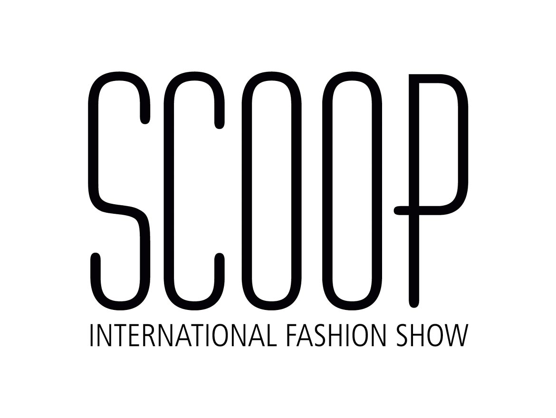 Scoop International Fashion Show Logo Design
