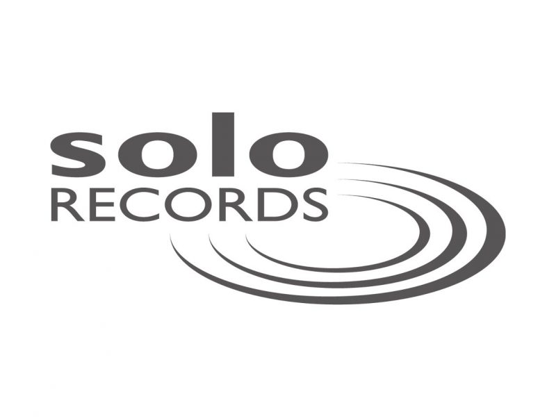 Solo Records Logo Design