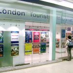 London Tourist Information Centre Entrance