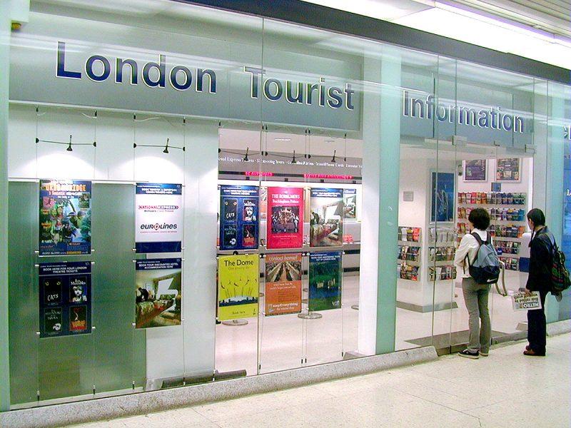 London Tourist Information Centre Entrance