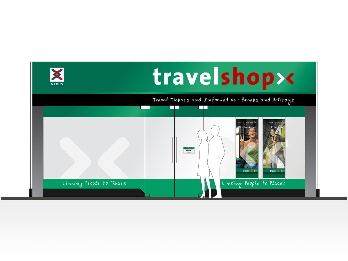 Nexus Travelshop Retail Design Exterior