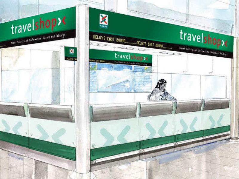 Nexus Travelshop Retail Design