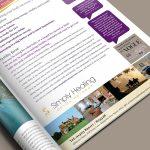 Simply Healing Magazine Advert