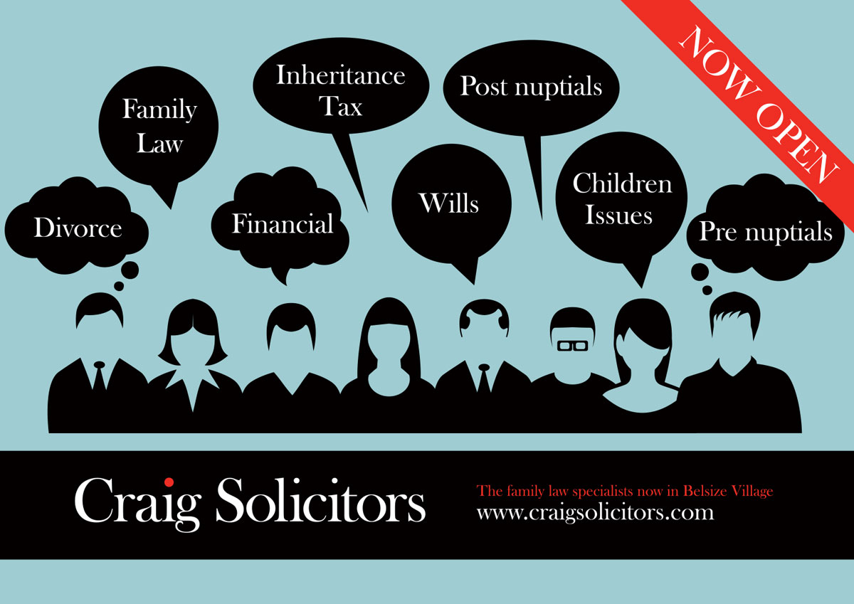 Craig Solicitors Advertising