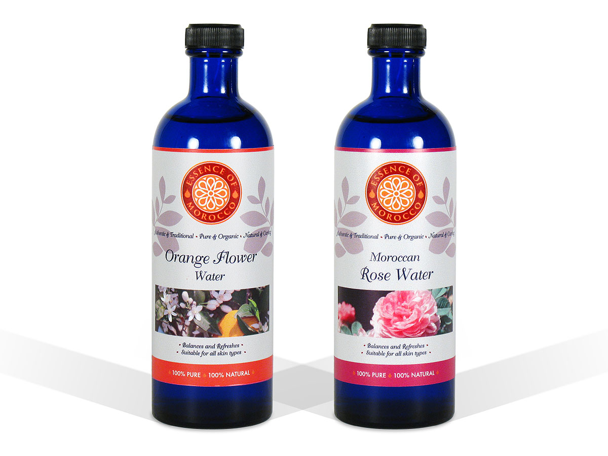 Essence of Morocco Rose Water Orange Water