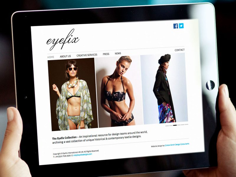 Eyefix Website Design
