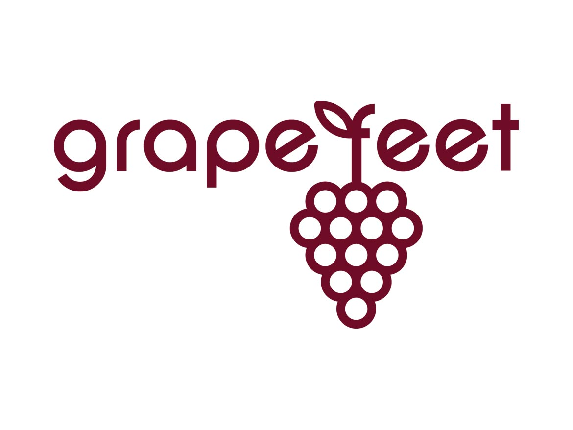 Grape Feet Logo Design