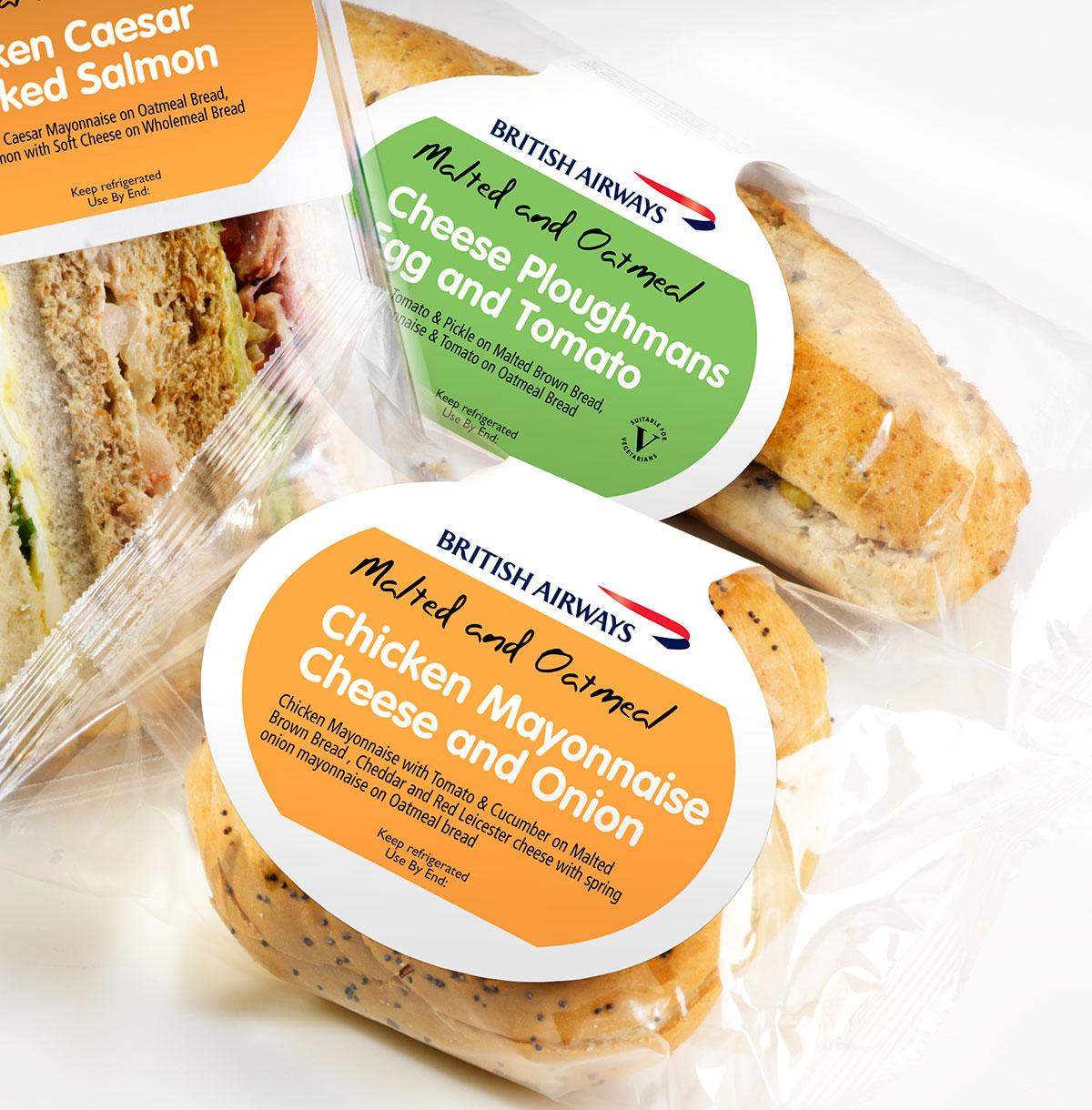 Greencore British Airways Sandwich Packaging