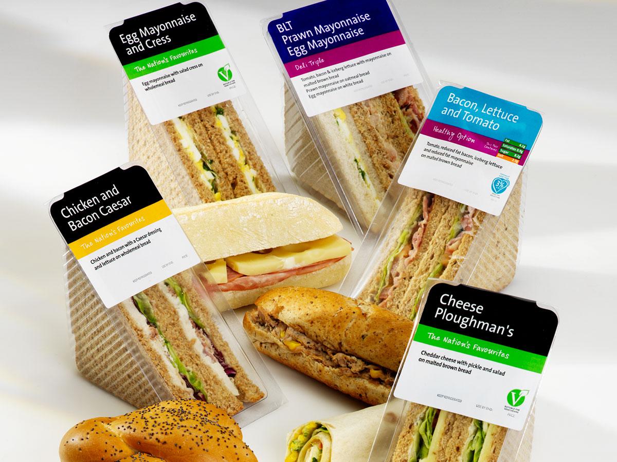 Greencore Sandwich Packaging Range