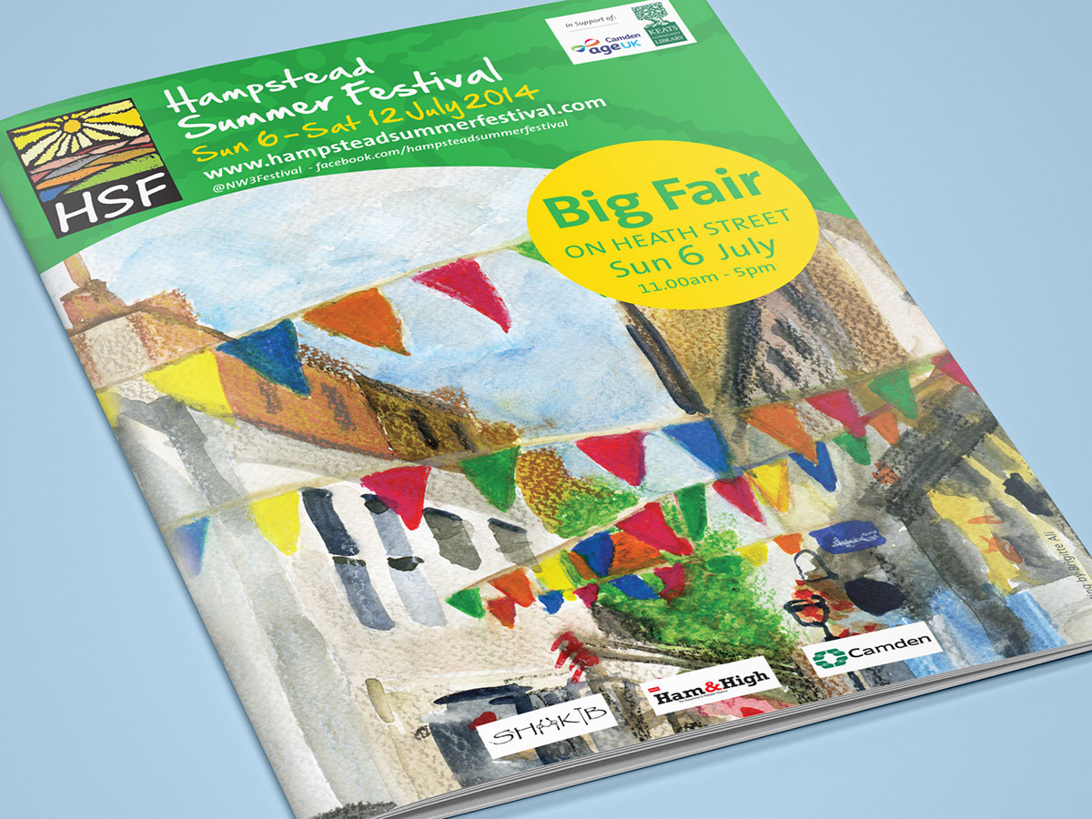 Hampstead Summer Festival 2014 Brochure Cover