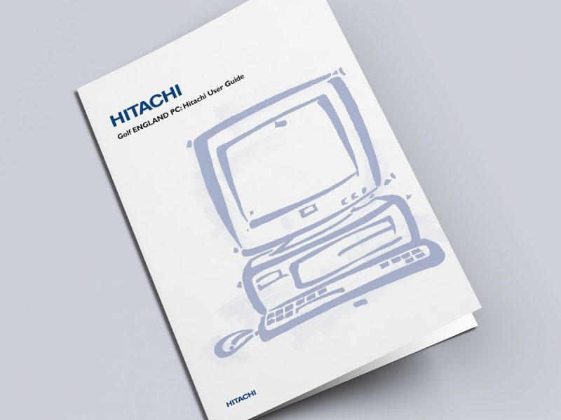 Hitachi PC User Guide Cover