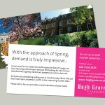 Hugh Grover Estate Agents Mailer