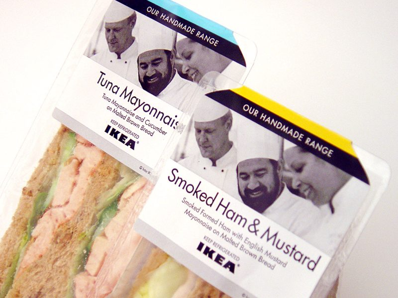 IKEA Sandwich Packaging Design