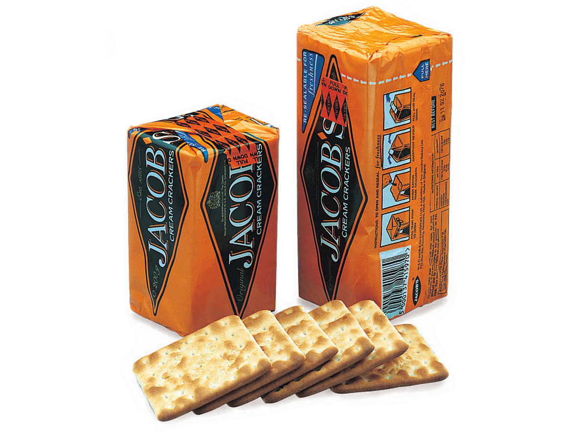 Jacobs Crackers Packaging Design