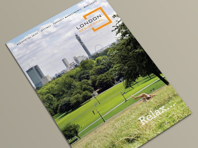 London Residential Brochure Design