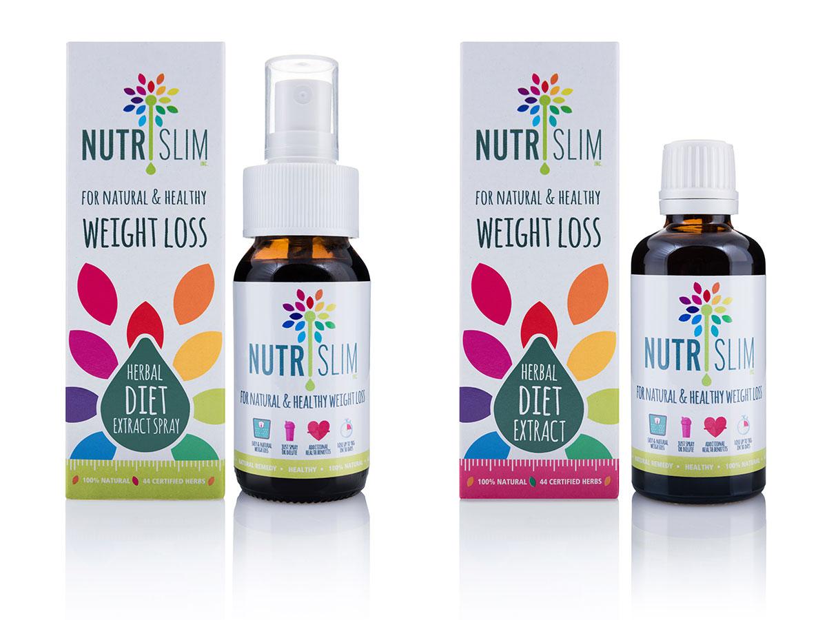 Nutrislim Packaging Design