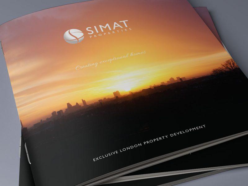 Simat Properties Brochure Design