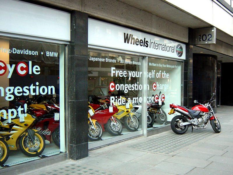 Wheels International Retail Design