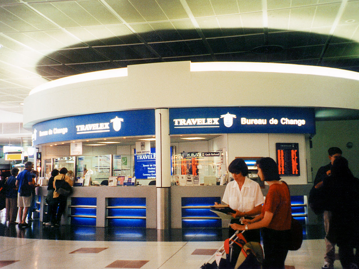 Travelex Retail Kiosk Design