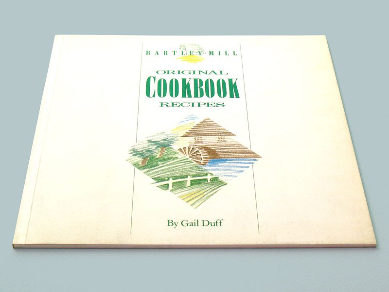 Bartley Mill Original Cookbook Publishing