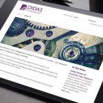 Didas Research Website Design
