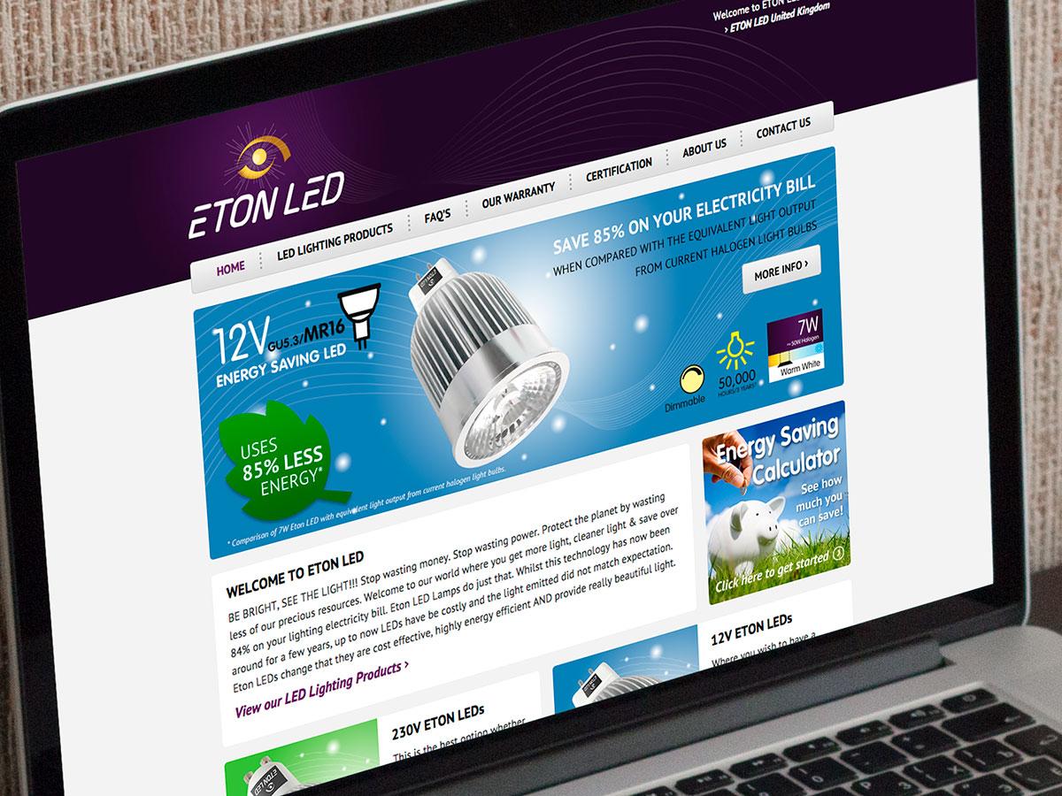 Eton LED Website Design