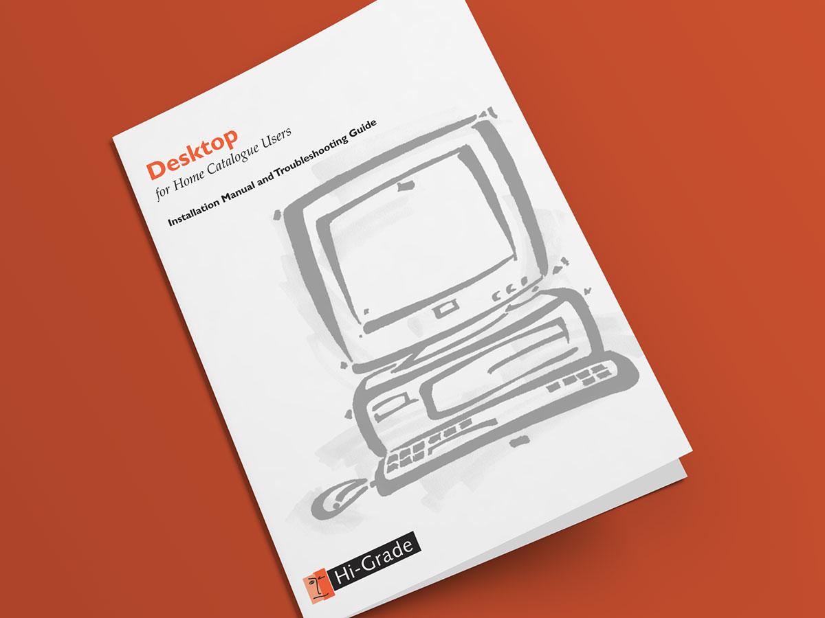 Hi-Grade Computer Manual Desktop