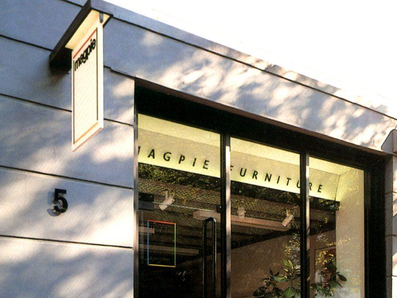 Magpie Furniture Sowroom Design