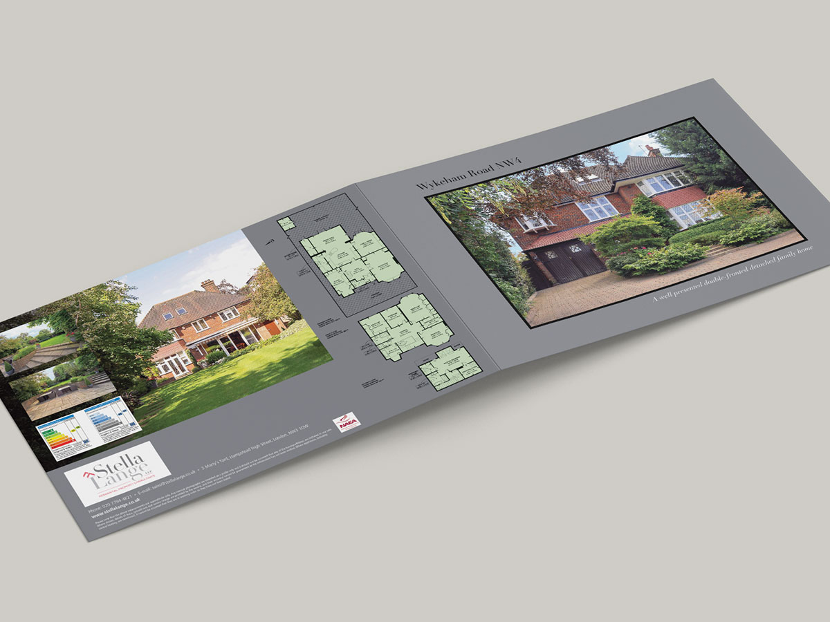 Stella Lange Property Brochure Design