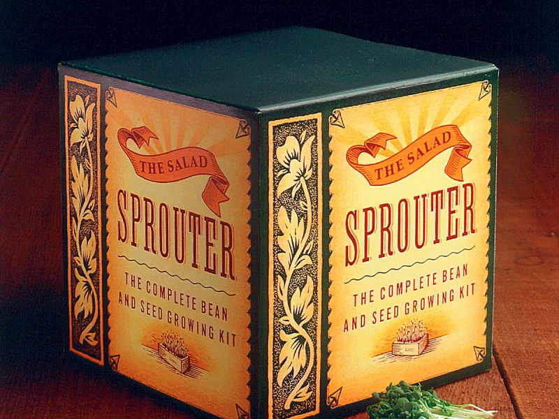 Bathke Salad Sprouter Packaging Design
