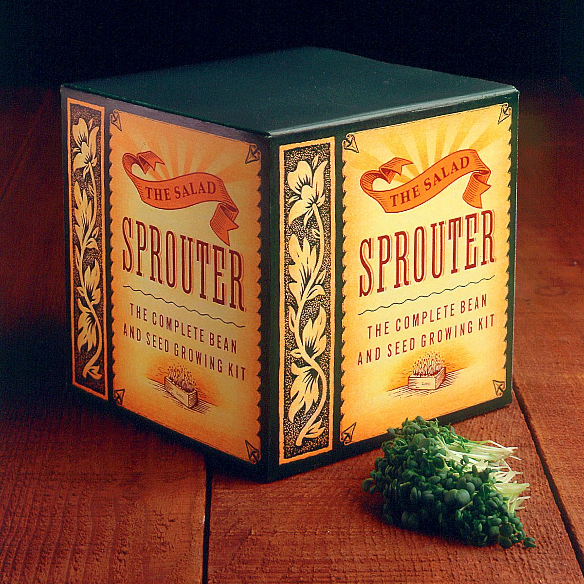 Bathke Salad Sprouter Packaging Design