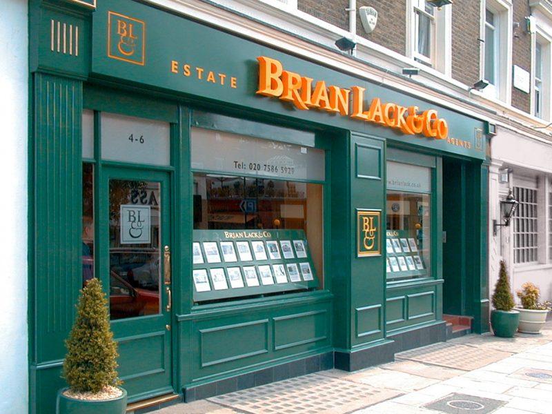 Brian Lack Estate Agnet Retail Design