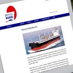 British Marine Website Design